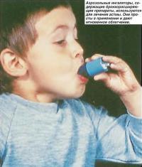 Аэрозольные ингаляторы используются для лечения астмы