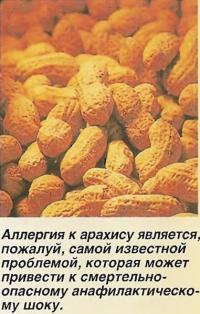 Аллергия к арахису
