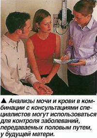 Анализы мочи и крови в комбинации с консультациями специалистов