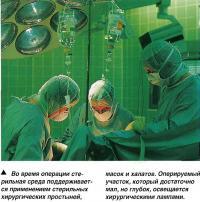 Анестезия и осмотр