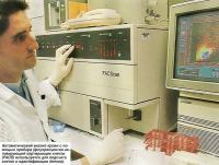 Автоматический анализ крови с помощью прибора
