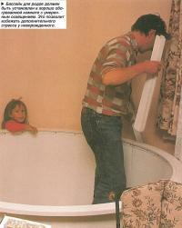 Бассейн для родов должен быть установлен в хорошо обогреваемой комнате