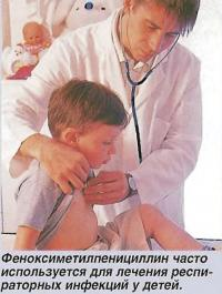 Часто используется для лечения респираторных инфекций у детей