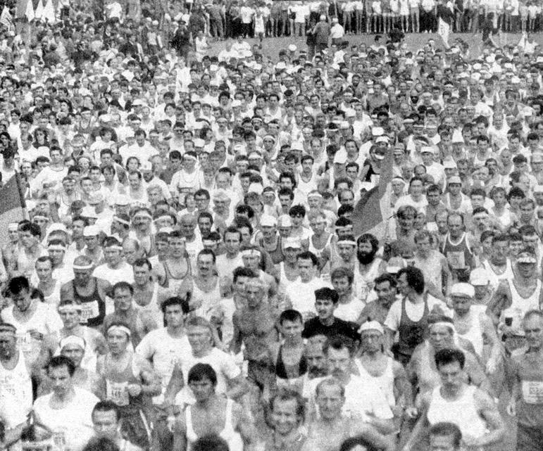 Фото участников марафона
