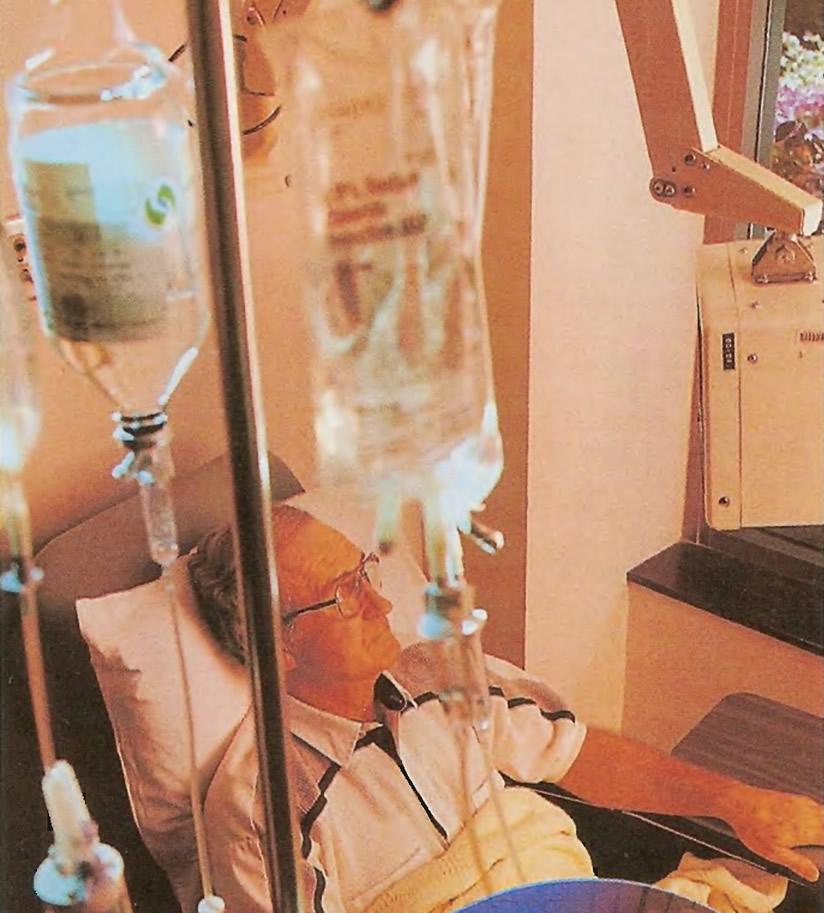 Химиотерапия при лейкозе часто продолжается несколько месяцев