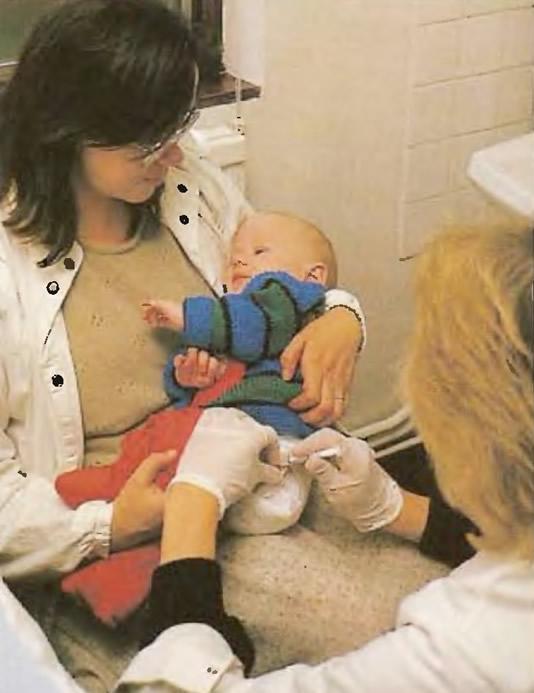 Иммунизация помогает подготовить иммунную систему ребенка