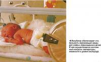 Инкубатор обеспечивает стабильность окружающей среды для слабых недоношенных детей