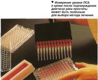 Измерение уровня ПСА в крови после подтверждения диагноза рака простаты