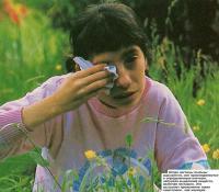 Когда частицы пыльцы вдыхаются, они присоединяются к определенным клеткам