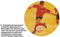 Координация движений у ребенка формируется благодаря постоянной практике