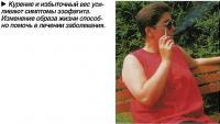 Курение и избыточный вес усиливают симптомы эзофагита