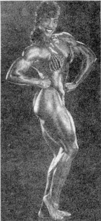 Линда Мюррей. «Мисс олимпия» — вершина успеха. Нью-Йорк. 1990 год