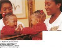 Маленькие дети не способны узнать свое отражение в зеркале