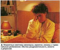 Неприятные симптомы менопаузы, вероятно, связаны с гормональным дисбалансом