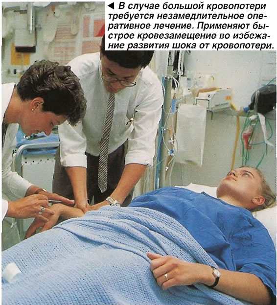 Незамедлительное оперативное лечение