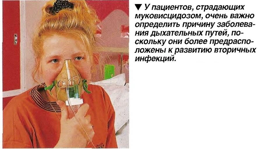 Очень важно определить причину заболевания дыхательных путей