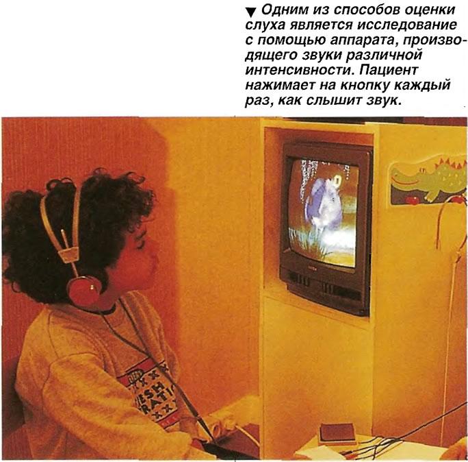 Одним из способов оценки слуха является исследование с помощью аппарата