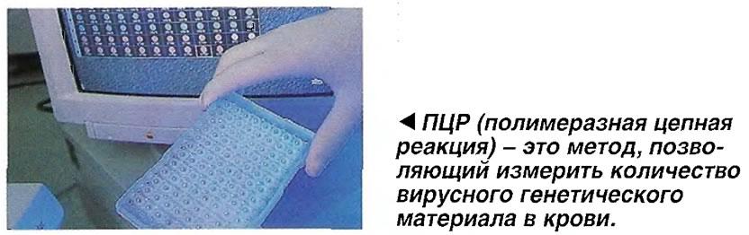ПЦР - это метод, позволяющий измерить количество вирусного генетического материала в крови