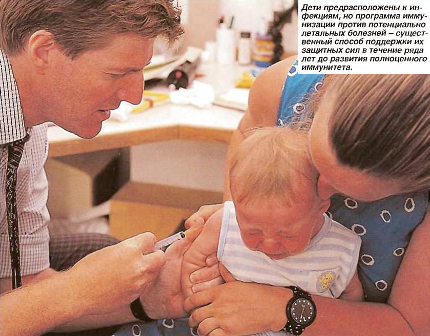 Программа иммунизации против потенциально летальных болезней