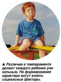 Различия в темпераменте делают каждого ребенка уникальным