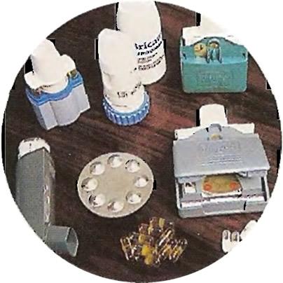 Различные варианты ингаляторов и расширяющих бронхи лекарственных препаратов