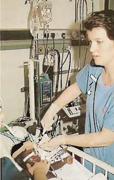 Ребенок с респираторной недостаточностью нуждается в искусственной вентиляции