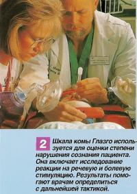 Шкала комы Глазго используется для оценки степени нарушения сознания пациента