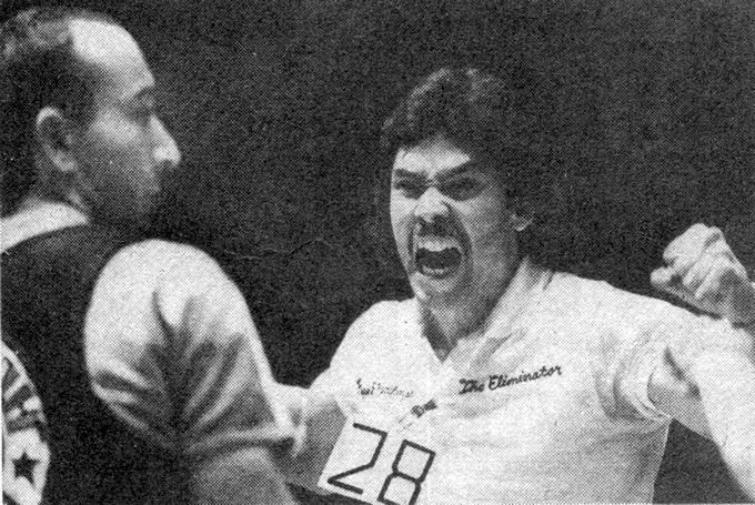 Слева Майрбек Золоев, справа Трэнтон Майер