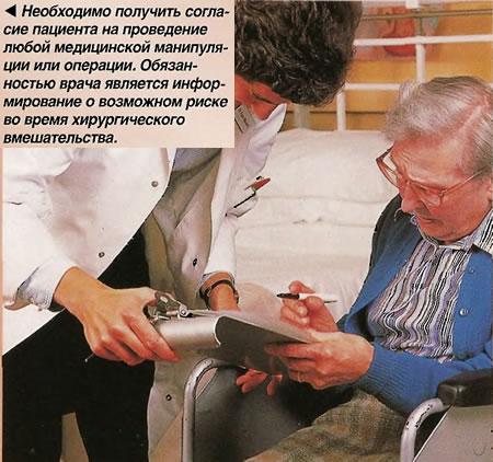 Согласие пациента