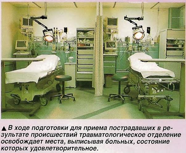 Травматологическое отделение освобождает места