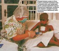 Уход за больными в условиях изоляции