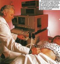 Ультразвуковое исследование можно провести через нижнюю часть живота