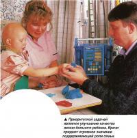 Улучшение качества жизни больного ребенка.