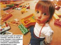 В возрасте двух лет ребенок понимает, мальчик он или девочка