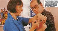 Вакцинация - введение пациенту мертвых или ослабленных микроорганизмов